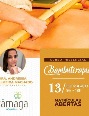 Curso de Bambuterapia – 13/03/2020