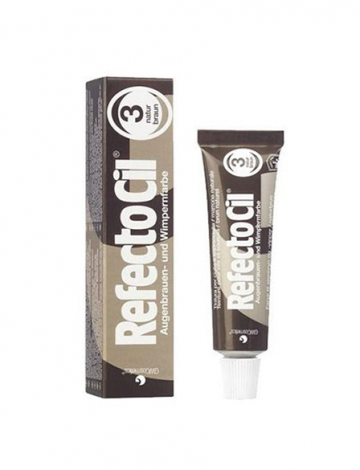 REFECTOCIL TINTURA NATURAL BROWN 3.0 15ML