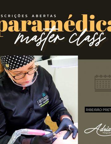 Master Class Paramédica -Em breve nova data