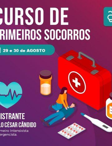 Curso de Primeiros Socorros Voltado Para Saúde Estética – 29/08 e 30/08/2019