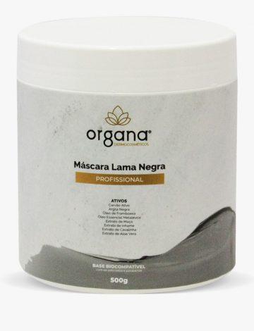 MÁSCARA DE LAMA NEGRA PROFISSIONAL 500G