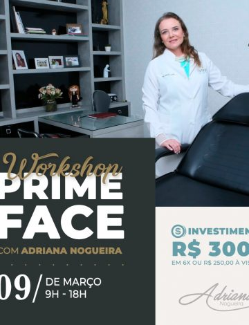 Workshop: Prime Face – 09/03/2020