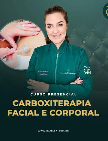 Curso de Carboxiterapia Facial, Capilar e Corporal – 16/12/2021