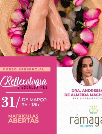 Curso Reflexologia e Escalda Pés – 31/03/2020 – CANCELADO – Em breve nova data