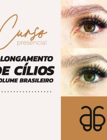 Curso: Alongamento de Cílios Volume Brasileiro – EM BREVE NOVA DATA – TURMA DIURNA