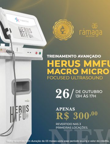 Treinamento Herus Hifu- Ultrassom Macro e Microfocado – 26/10/2021