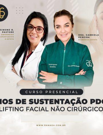 Fios de Sustentação PDO Lifting Facial Não Cirúrgico – 21/10/2021