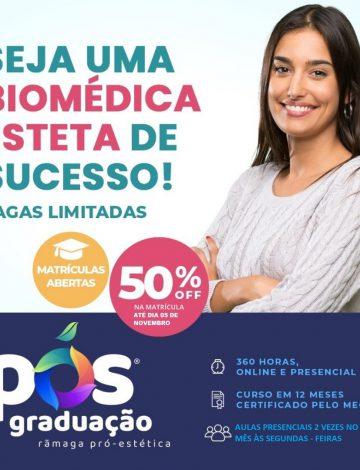 Pós-Graduação Biomedicina Estética Reconhecido pelo MEC – Segunda-feira