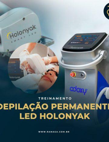 Treinamento Depilação Permanente :  LED Holonyak 26/10/2021