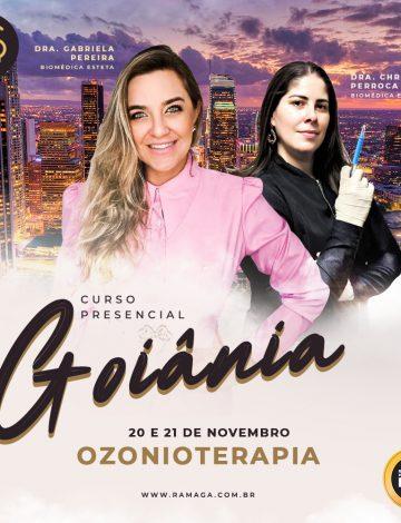 Ozonioterapia – Teórico & Prático – Em Goiânia/GO – 20/11 e 21/11/2021