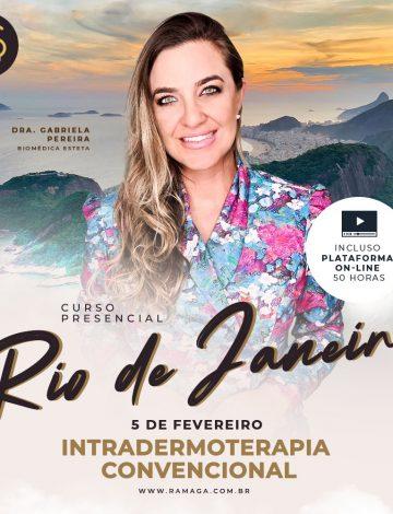 Intradermoterapia Convencional: Mesoterapia, Intramuscular e Hidrolipoclasia Não Aspirativa – Rio de Janeiro/RJ – 05/02/2022